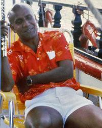 Sri Chinmoy reist umher