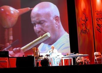 Sri Chinmoy auf Konzerttournee in Deutschland 2005
