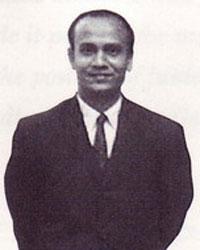 Sri Chinmoy im indischen Konsulat